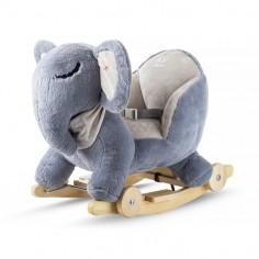 Kinderkraft - Balansoar cu roti 2 in 1 Elephant Grey