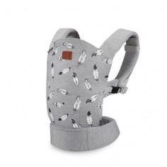 Kinderkraft - Marsupiu ergonomic Milo Grey