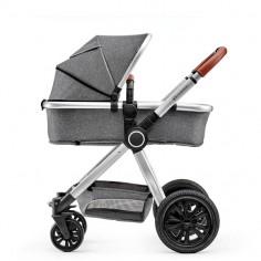 Kinderkraft - Carucior 3 in 1 Veo Grey