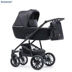 Krausman - Carucior 3 in 1 Verano Lux Black