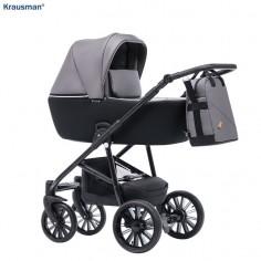 Krausman - Carucior 3 in 1 Verano Lux Grey