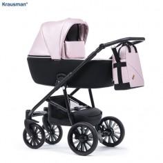 Krausman - Carucior 3 in 1 Verano Lux Pink
