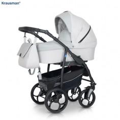 Krausman - Carucior 3 in 1 Combo Max Light Grey