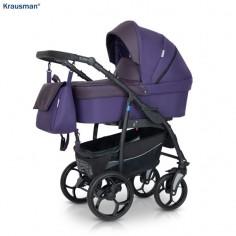 Krausman - Carucior 3 in 1 Combo Max Purple