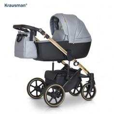 Krausman - Carucior 3 in 1 Storm Grey Gold