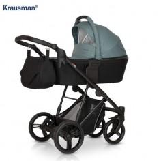 Krausman - Carucior 3 in 1 Aterra Black-Green