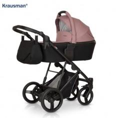 Krausman - Carucior 3 in 1 Aterra Dark-Pink