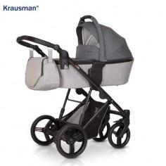 Krausman - Carucior 3 in 1 Aterra Grey