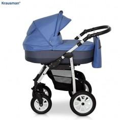 Krausman - Carucior 3 in 1 Jet Blue