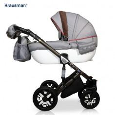 Krausman - Carucior 3 in 1 Jools Eclipse Grey-Brown
