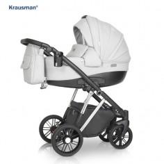 Krausman - Carucior 3 in 1 LEXXO Silver Gray