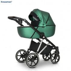 Krausman - Carucior 3 in 1 Xplorer Green Shiny
