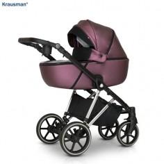 Krausman - Carucior 3 in 1 Xplorer Purple Shiny