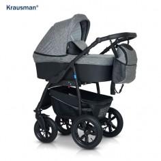Krausman - Carucior Trend Dark Grey Prestige