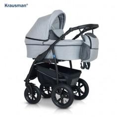 Krausman - Carucior Trend Light Grey Prestige