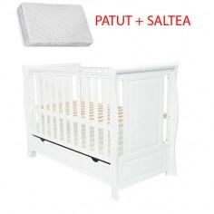 MAMO-TATO - Patut multifunctional Rigoletto II + Saltea Cocos