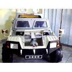 Jucarii diverse - Masinuta electrica 3899 - ARMY FORCE