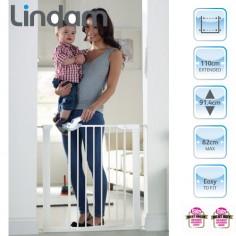 Lindam - Poarta siguranta Easy Fit Plus Deluxe