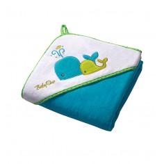 Prosop de baie cu gluga 100x100 cm Hooded Towel Blue