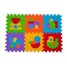Puzzle Animalute - covoras din spuma 6 buc