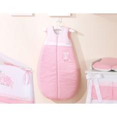 MAMO-TATO - Sac de dormit Cute Bird Pink 84 cm