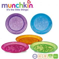 Munchkin - Set 5 farfurii colorate