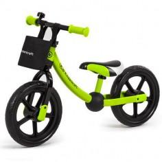 Kinderkraft - Bicicleta fara pedale 2Way Next Green
