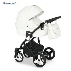 Krausman - Carucior 3 in 1 Zen White Luxe
