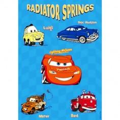 Disney baby - Covoras Radiator Springs 140x200 cm(8) Disney