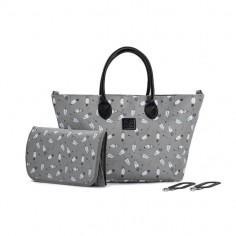 Kinderkraft - Geanta pentru mamici multifunctionala MOMMY BAG Grey