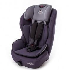 KinderKraft - Scaun auto SAFETY-FIX Graphit 9-36kg