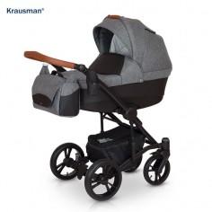 Krausman - Carucior 3 in 1 Tripp Grey