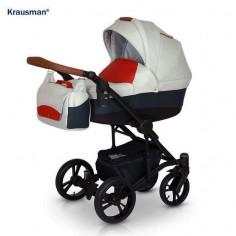 Krausman - Carucior 3 in 1 Tripp Red