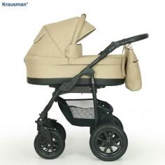 Krausman - Carucior 3 in 1 Jet Beige