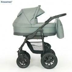 Krausman - Carucior 3 in 1 Jet Grey
