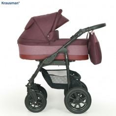 Krausman - Carucior 3 in 1 Jet Purple