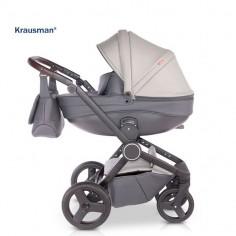 Krausman - Carucior 3 in 1 Ego Grey