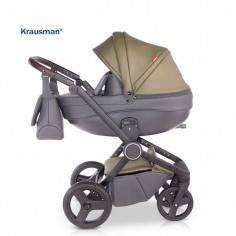 Krausman - Carucior 3 in 1 Ego Olive