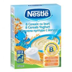 Nestle 8 Cereale Iaurt, 250 gr