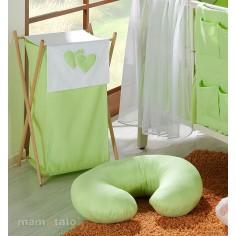 MAMO-TATO - Perna de alaptat Inimioare Verde