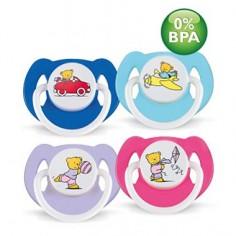 PHILIPS AVENT - Set 2 suzete din silicon Ursuleti 6+ 0% BPA