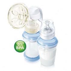 Philips Avent - Pompa pentru san cu sistem de stocare VIA 0% BPA