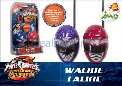 Imc Toys - Walkie Talkie Power Rangers