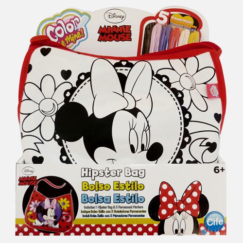 Cifre - Color Me Mine Hipster Bag Minnie Mouse