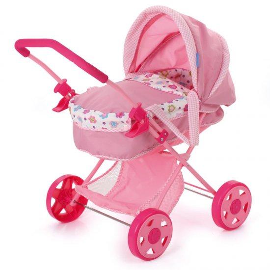 Hauck Toys - Carucior Papusi - Diana Pram Spring Pink