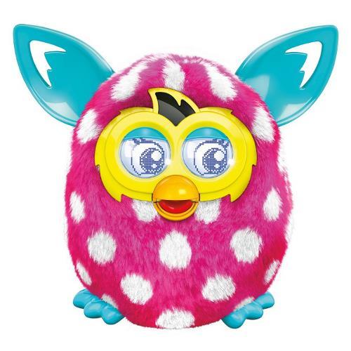 Hasbro - Furby Boom Roz Alb - Noua Generatie
