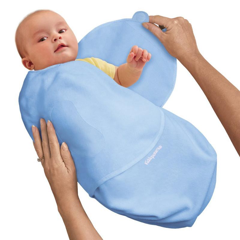 Summer Infant - Sistem de infasare pentru bebelusi SwaddleMe Albastru