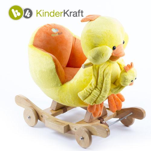 Kinderkraft - Balansoar cu roti 2 in 1 Tweety cu sunete