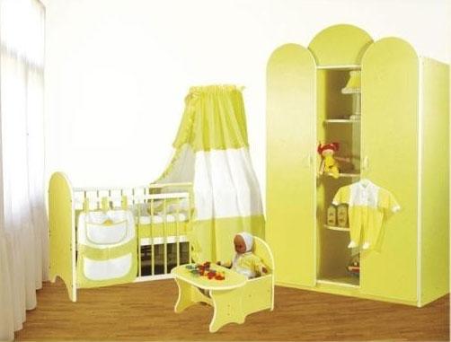 Bretco Design - Dormitor MARGOT galben