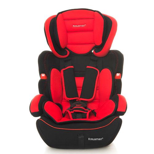 Krausman - Scaun auto Safe Red 9-36kg